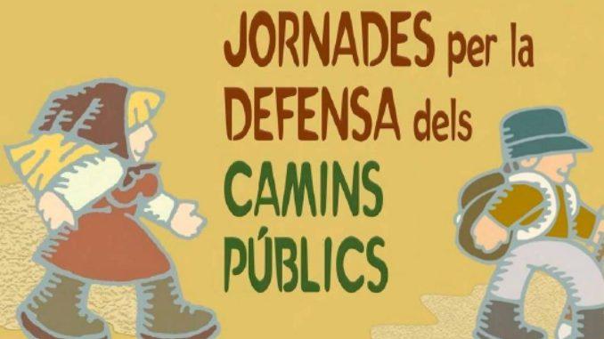 Jornades per la Defensa dels Camins Públics (Alcoi, 18-19/nov./2017)